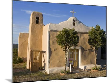 San Francisco De Asis Church Dating from 1835, Golden, New Mexico, United States of America, North -Richard Cummins-Mounted Photographic Print