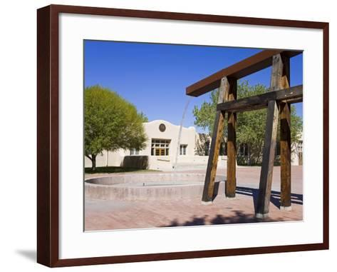 National Hispanic Cultural Center, Albuquerque, New Mexico, United States of America, North America-Richard Cummins-Framed Art Print