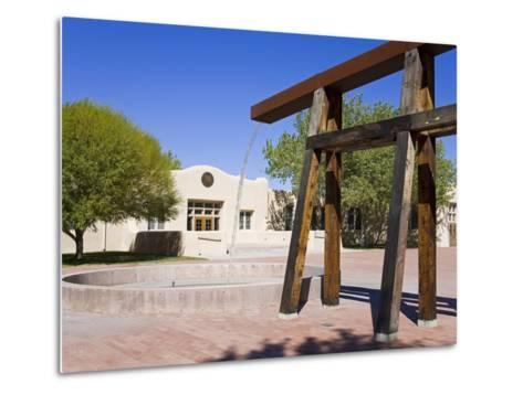 National Hispanic Cultural Center, Albuquerque, New Mexico, United States of America, North America-Richard Cummins-Metal Print
