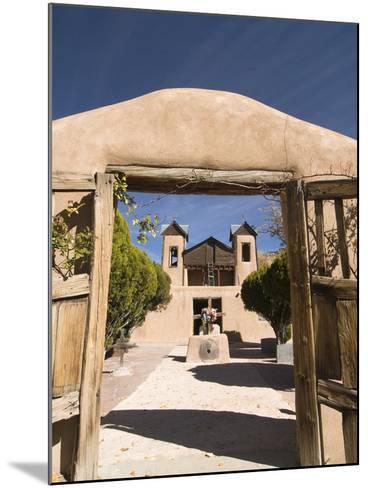 El Santuario De Chimayo, Built in 1816, Chimayo, New Mexico, United States of America, North Americ-Richard Maschmeyer-Mounted Photographic Print