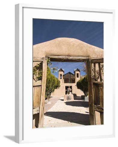 El Santuario De Chimayo, Built in 1816, Chimayo, New Mexico, United States of America, North Americ-Richard Maschmeyer-Framed Art Print
