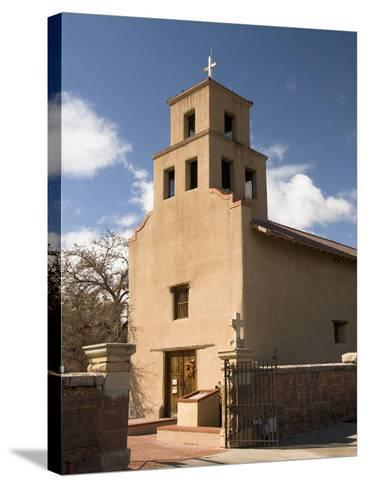 Our Lady of Guadalupe Church (El Santuario De Guadalupe Church), Built in 1781, Santa Fe, New Mexic-Richard Maschmeyer-Stretched Canvas Print
