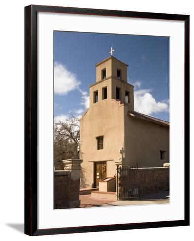 Our Lady of Guadalupe Church (El Santuario De Guadalupe Church), Built in 1781, Santa Fe, New Mexic-Richard Maschmeyer-Framed Art Print