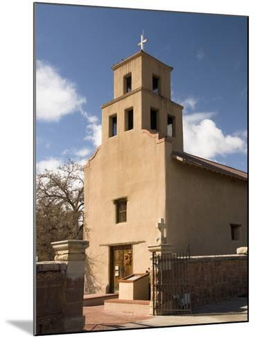 Our Lady of Guadalupe Church (El Santuario De Guadalupe Church), Built in 1781, Santa Fe, New Mexic-Richard Maschmeyer-Mounted Photographic Print