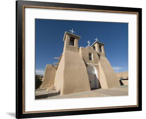 Old Mission of St. Francis De Assisi, Ranchos De Taos, New Mexico, United States of America, North -Richard Maschmeyer-Framed Art Print