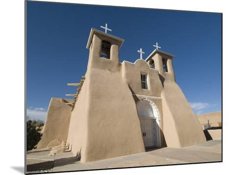 Old Mission of St. Francis De Assisi, Ranchos De Taos, New Mexico, United States of America, North -Richard Maschmeyer-Mounted Photographic Print