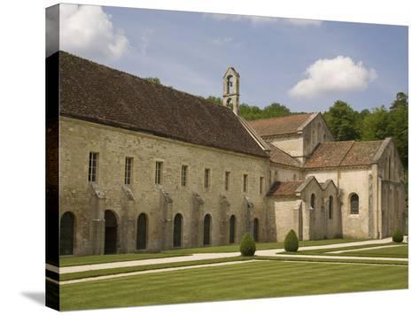 Fontenay Abbey, UNESCO World Heritage Site, Burgundy, France, Europe-Rolf Richardson-Stretched Canvas Print
