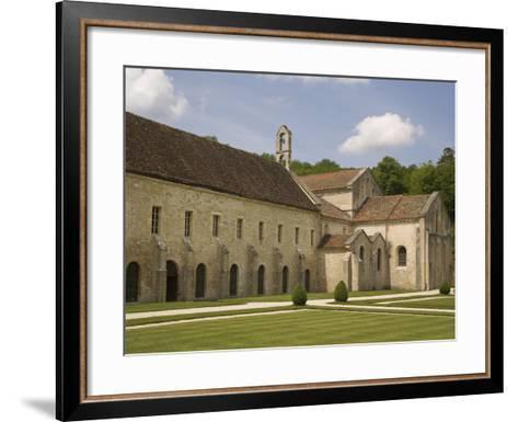 Fontenay Abbey, UNESCO World Heritage Site, Burgundy, France, Europe-Rolf Richardson-Framed Art Print