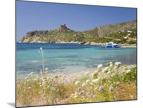 View across Bay to the Castle, Cabrera Island, Cabrera Archipelago National Park, Mallorca, Baleari-Ruth Tomlinson-Mounted Photographic Print