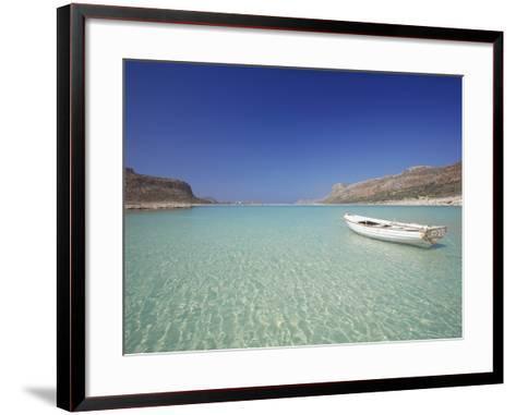 Balos Bay and Gramvousa, Chania, Crete, Greek Islands, Greece, Europe-Sakis Papadopoulos-Framed Art Print