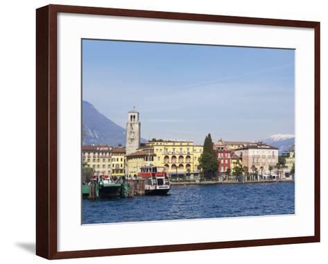 Riva Del Garda, Lago Di Garda (Lake Garda), Trentino-Alto Adige, Italian Lakes, Italy, Europe-Sergio Pitamitz-Framed Art Print