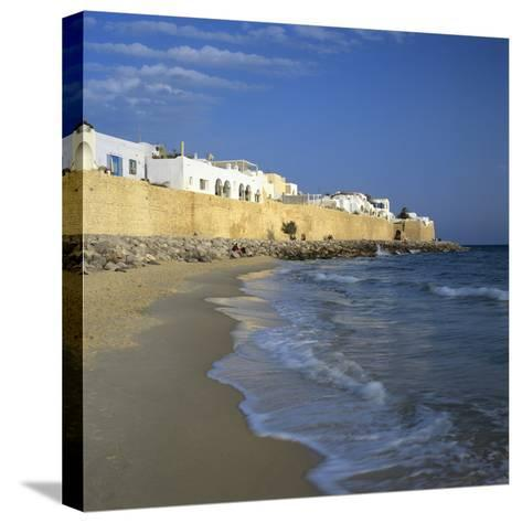 The Medina Walls, Hammamet, Cap Bon, Tunisia, North Africa, Africa-Stuart Black-Stretched Canvas Print