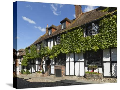 Mermaid Inn, Mermaid Street, Rye, East Sussex, England, United Kingdom, Europe-Stuart Black-Stretched Canvas Print