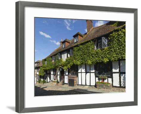 Mermaid Inn, Mermaid Street, Rye, East Sussex, England, United Kingdom, Europe-Stuart Black-Framed Art Print