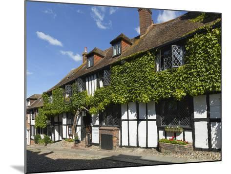 Mermaid Inn, Mermaid Street, Rye, East Sussex, England, United Kingdom, Europe-Stuart Black-Mounted Photographic Print