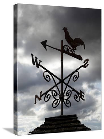 Weather Vane, United Kingdom, Europe-Stuart Black-Stretched Canvas Print