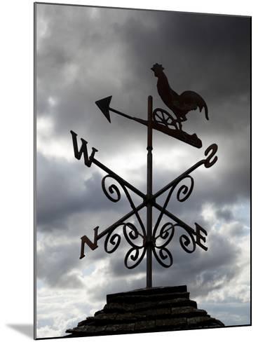 Weather Vane, United Kingdom, Europe-Stuart Black-Mounted Photographic Print