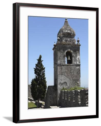 Bell Tower on the Walls of the Castle, Formerly a Royal Residence, at Montemor-O-Velho, Beira Litor-Stuart Forster-Framed Art Print