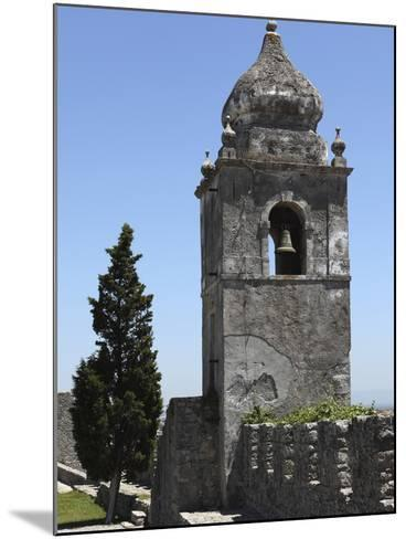 Bell Tower on the Walls of the Castle, Formerly a Royal Residence, at Montemor-O-Velho, Beira Litor-Stuart Forster-Mounted Photographic Print