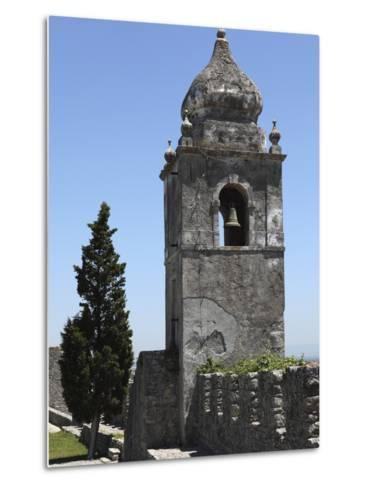 Bell Tower on the Walls of the Castle, Formerly a Royal Residence, at Montemor-O-Velho, Beira Litor-Stuart Forster-Metal Print