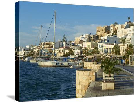 The Chora (Hora), Naxos, Cyclades Islands, Greek Islands, Aegean Sea, Greece, Europe-Tuul-Stretched Canvas Print