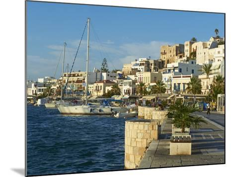 The Chora (Hora), Naxos, Cyclades Islands, Greek Islands, Aegean Sea, Greece, Europe-Tuul-Mounted Photographic Print