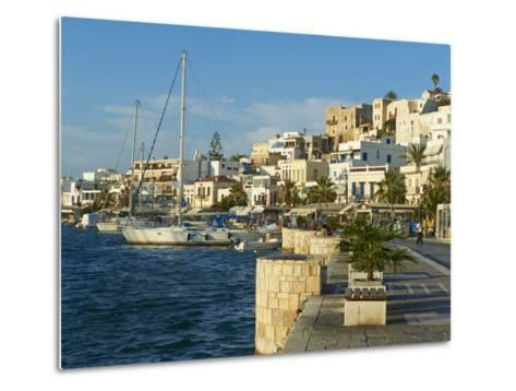 The Chora (Hora), Naxos, Cyclades Islands, Greek Islands, Aegean Sea, Greece, Europe-Tuul-Metal Print