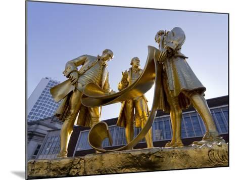 Boulton Statue, Birmingham, Midlands, England, United Kingdom, Europe-Charles Bowman-Mounted Photographic Print