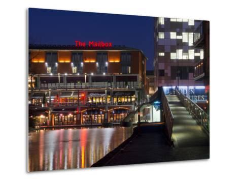 The Mailbox, Canal Area, Birmingham, Midlands, England, United Kingdom, Europe-Charles Bowman-Metal Print