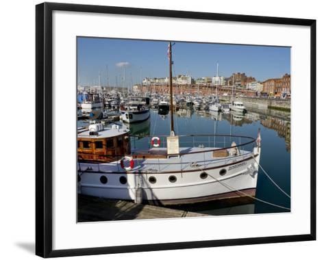 Ramsgate, Thanet, Kent, England, United Kingdom, Europe-Charles Bowman-Framed Art Print
