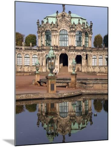 Zwinger Palace, Dresden, Saxony, Germany, Europe-Hans Peter Merten-Mounted Photographic Print