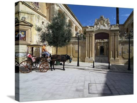 Old Town of Mdina, Malta, Mediterranean, Europe-Hans Peter Merten-Stretched Canvas Print