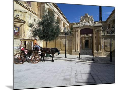 Old Town of Mdina, Malta, Mediterranean, Europe-Hans Peter Merten-Mounted Photographic Print