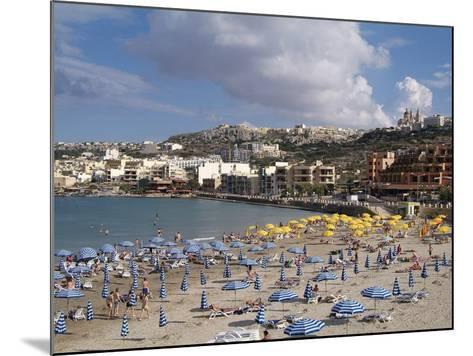 Mellieha Bay, Malta, Mediterranean, Europe-Hans Peter Merten-Mounted Photographic Print