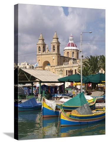 Marsaxlokk, Malta, Mediterranean, Europe-Hans Peter Merten-Stretched Canvas Print