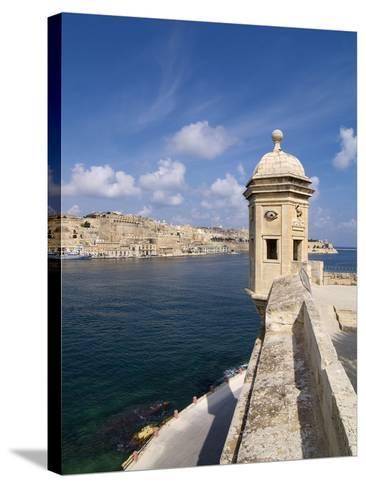 Fort St. Michael, Senglea, Grand Harbour, Valletta, Malta, Mediterranean, Europe-Hans Peter Merten-Stretched Canvas Print