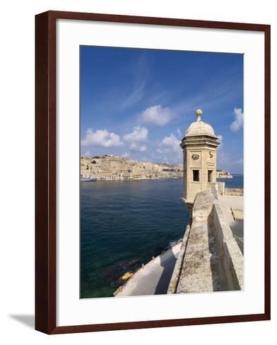 Fort St. Michael, Senglea, Grand Harbour, Valletta, Malta, Mediterranean, Europe-Hans Peter Merten-Framed Art Print