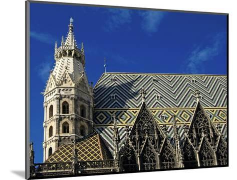 Roof of Stephansdom, UNESCO World Heritage Site, Vienna, Austria, Europe-Hans Peter Merten-Mounted Photographic Print
