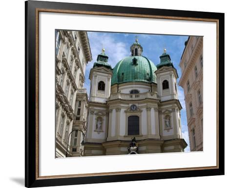 Church of St. Peter, Vienna, Austria, Europe-Hans Peter Merten-Framed Art Print