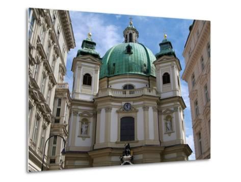 Church of St. Peter, Vienna, Austria, Europe-Hans Peter Merten-Metal Print