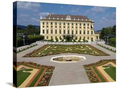 Schonbrunn Palace, UNESCO World Heritage Site, Vienna, Austria, Europe-Hans Peter Merten-Stretched Canvas Print