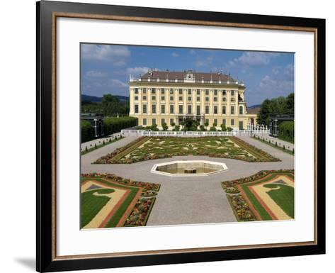 Schonbrunn Palace, UNESCO World Heritage Site, Vienna, Austria, Europe-Hans Peter Merten-Framed Art Print