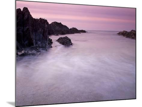 Combesgate Beach, Devon, England, United Kingdom, Europe-Jeremy Lightfoot-Mounted Photographic Print