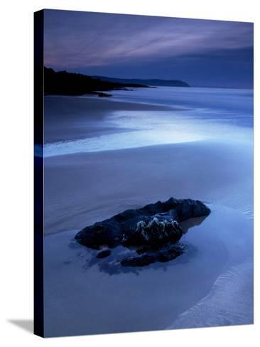 Combesgate Beach, Devon, England, United Kingdom, Europe-Jeremy Lightfoot-Stretched Canvas Print