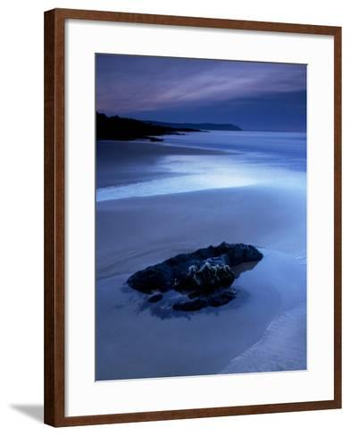 Combesgate Beach, Devon, England, United Kingdom, Europe-Jeremy Lightfoot-Framed Art Print