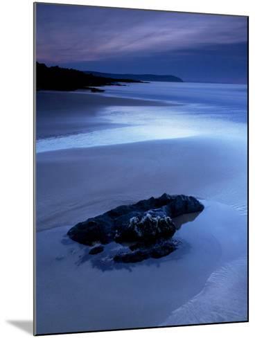 Combesgate Beach, Devon, England, United Kingdom, Europe-Jeremy Lightfoot-Mounted Photographic Print