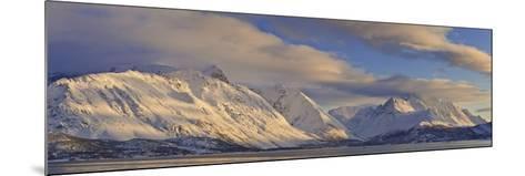 Looking across Ullsfjord, Towards the Southern Lyngen Alps, Troms, Norway, Scandinavia, Europe-Neale Clark-Mounted Photographic Print