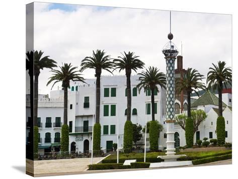 Royal Palace, Tetouan, Morocco, North Africa, Africa-Nico Tondini-Stretched Canvas Print