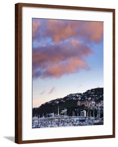 Wellington, North Island, New Zealand, Pacific-Michael Snell-Framed Art Print