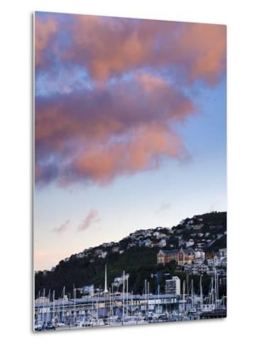 Wellington, North Island, New Zealand, Pacific-Michael Snell-Metal Print
